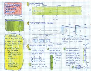 Bent Tuba Bamboo Book Instruction Sheet
