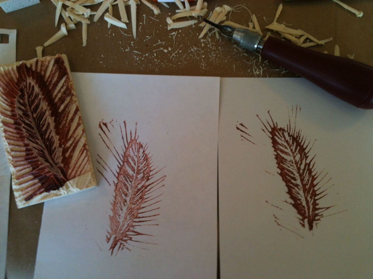 print and play brief guide to making your own rubber stamps bent