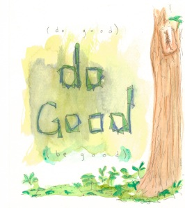 Aspiration Card: Do Good - benttuba.com