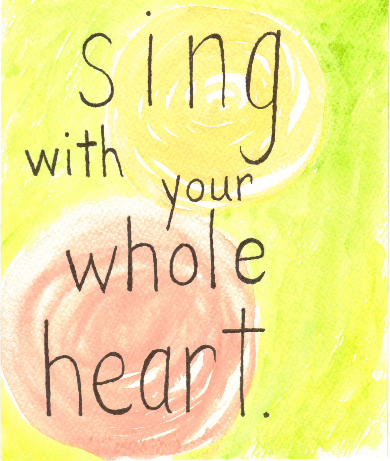 sing your whole heart a few personal aspirations bent sing your whole heart aspirations by com